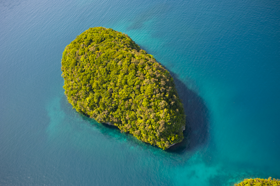 Palau from above