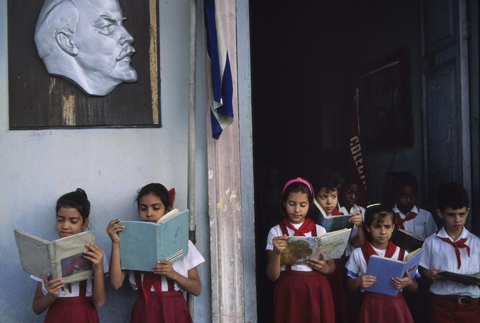Schoolchildren in Cuba